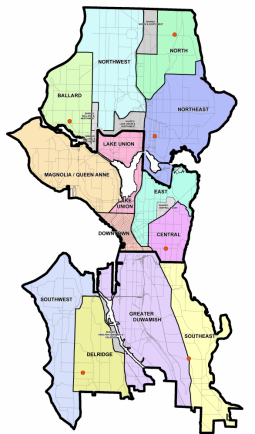 Seattle districts 2